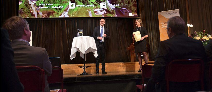 Fredrik Reinfeldt och Emma Härdmark